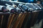 Hammers on Rack