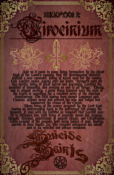 Tirocinium 11x17 poster