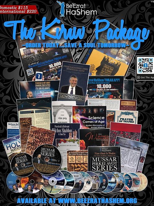 The Kiruv Package