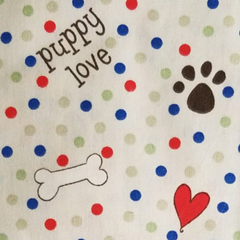 Puppy Love / Toddler, Youth and Adult Masks