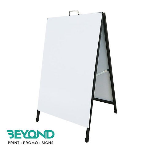 Metal A-Frame Sign