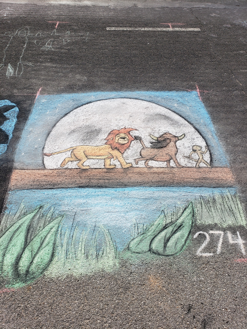 lion king chalk walk .jpg