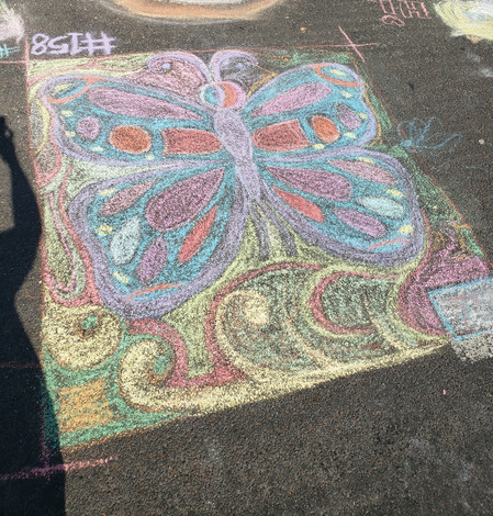 butterfly chalk walk .jpg