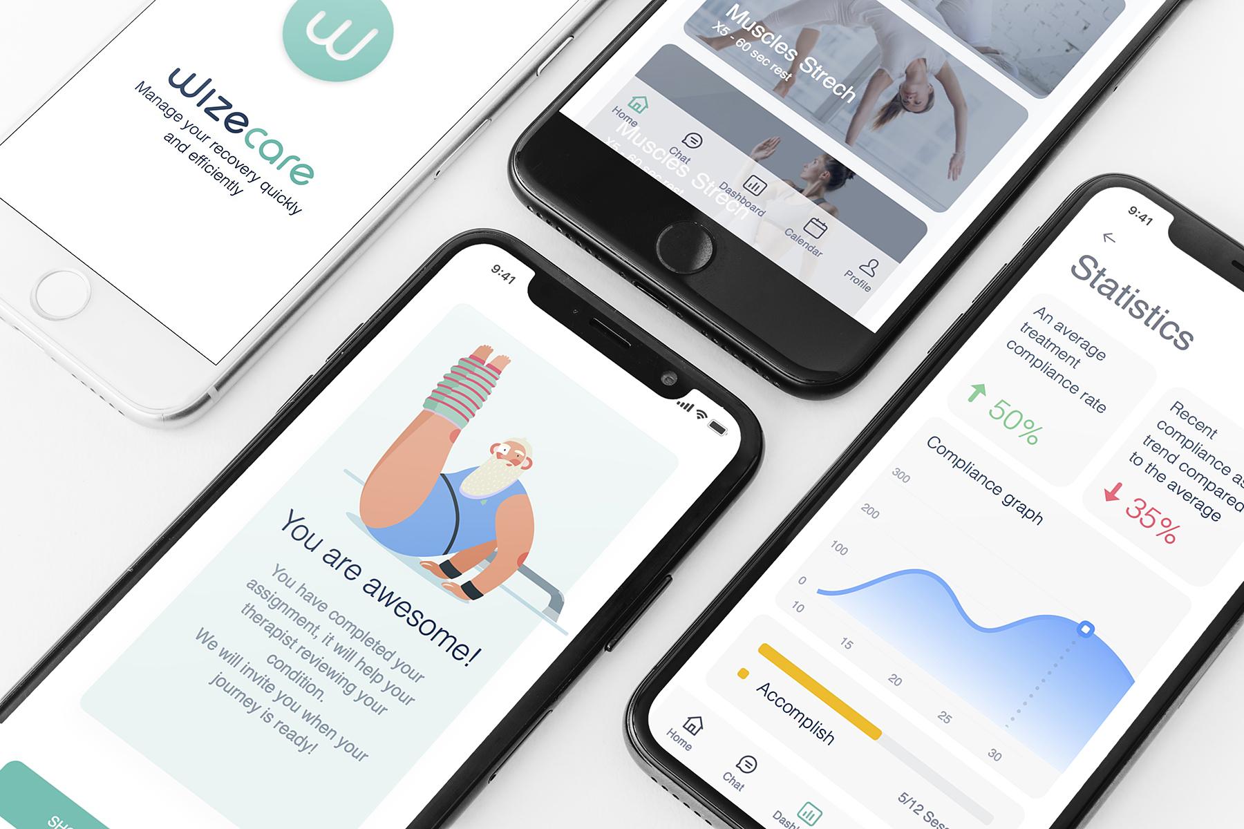Wizecare app