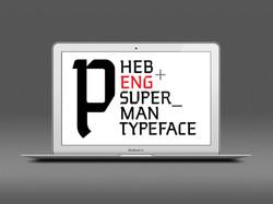 Superman Typeface