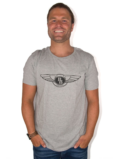 The Logo Shirt Men Grey