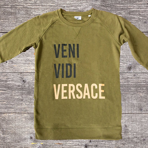 The versace sweater