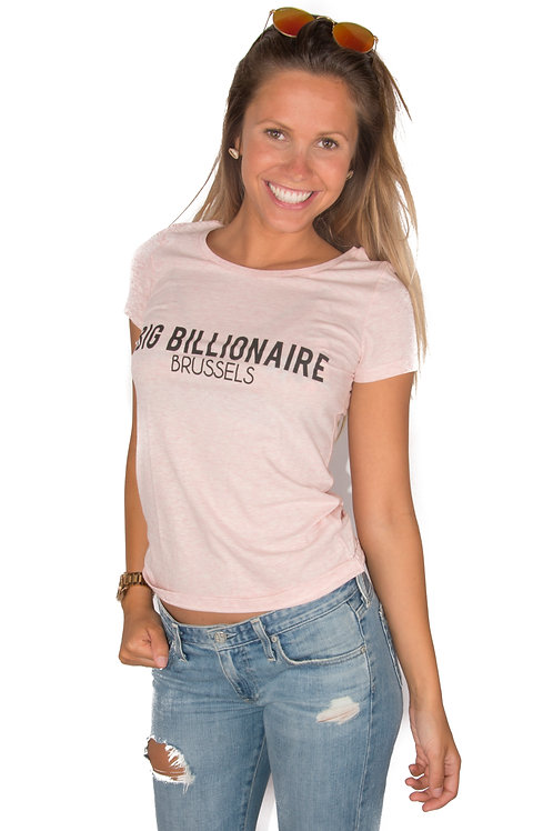 Official Billionaire shirt pink