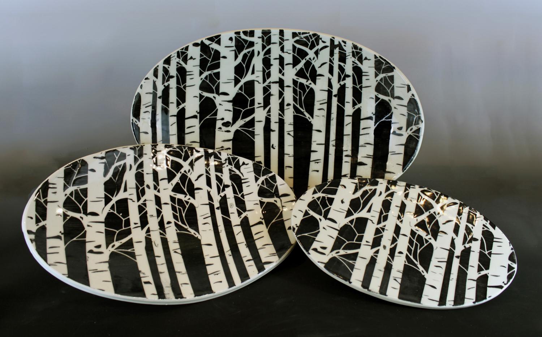 Birch platters