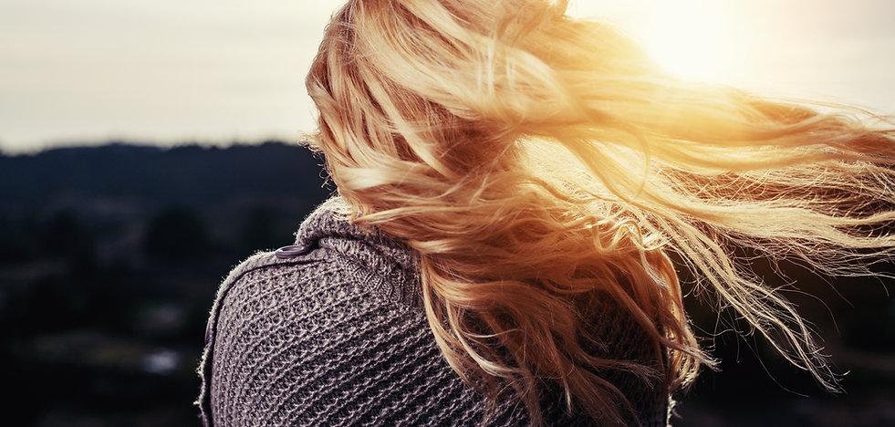 Wind in de haren
