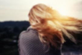 Wind im Haar