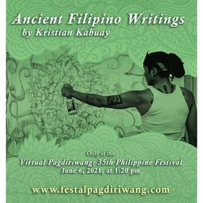 Ancient Filipino Writings by Kristian Kabuay