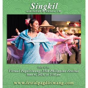 Singkil by Sayaw of FASA at UW