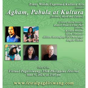 Agham, Pabula at Kultura Literary Reading by PWEKA