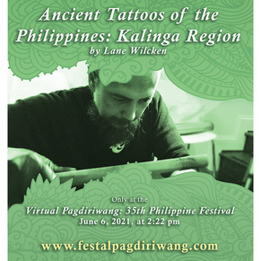 Ancient Tattoos of the Philippines by Lane Wilcken
