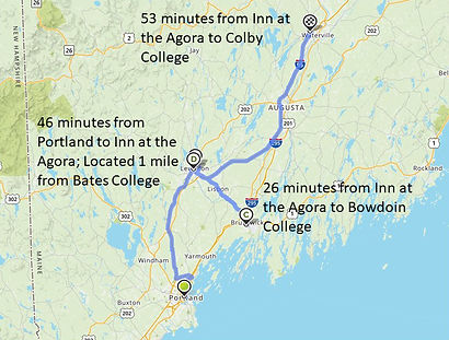 College Tour Map_within 1 hour