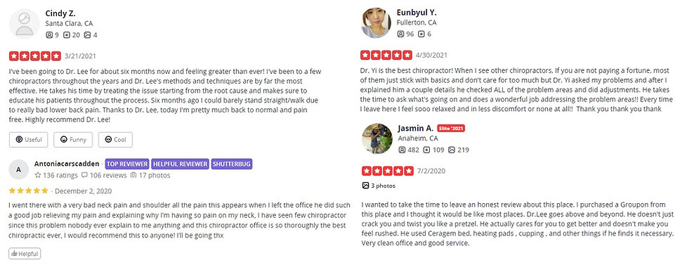 Tustin Chiropractic and Injury Clinic Pa