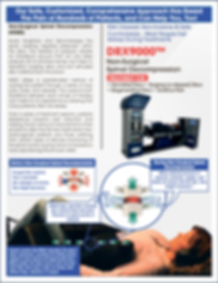 DRX9000 Spinal Decompression Therapy for