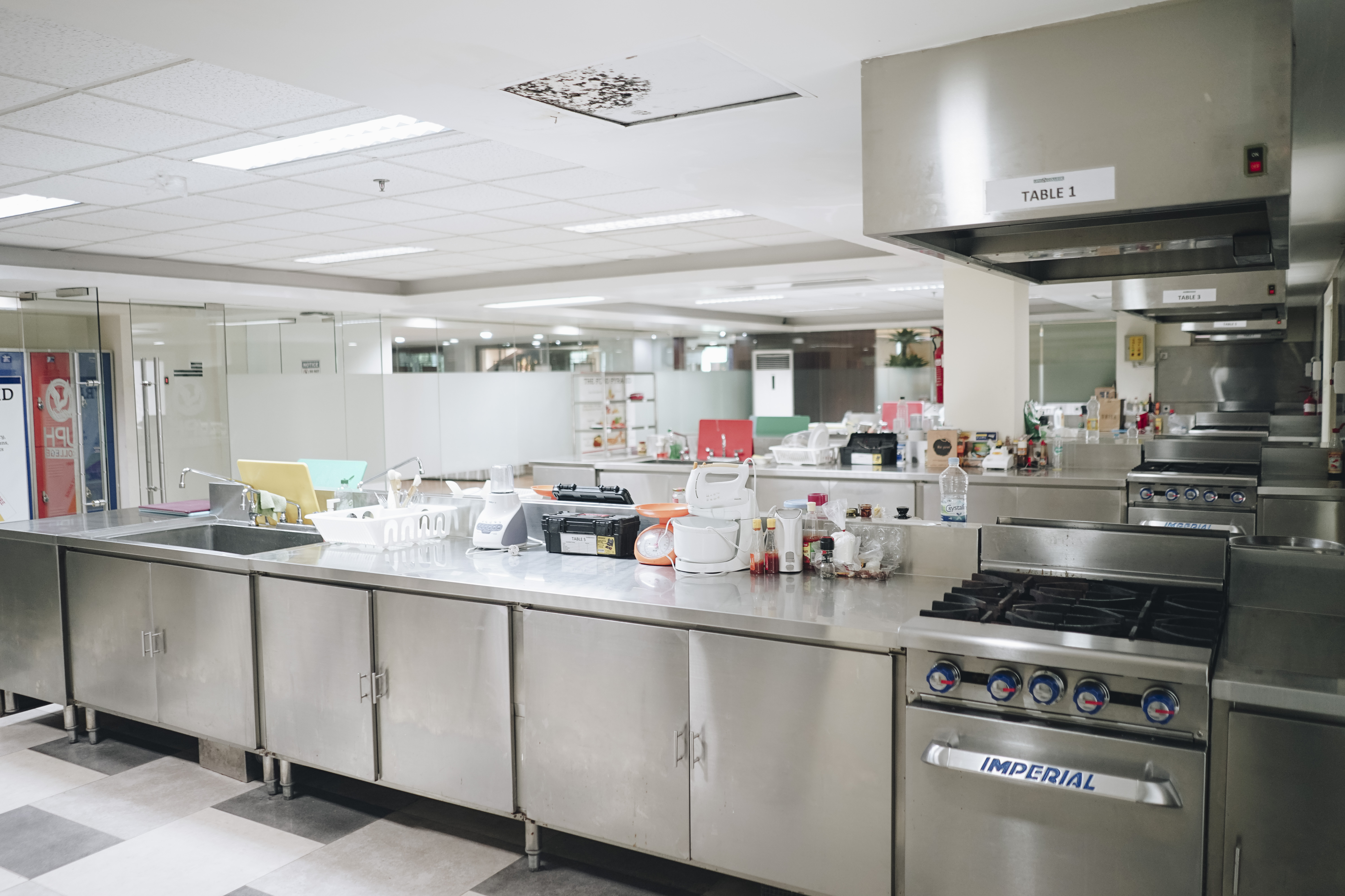 UPH College Kitchen