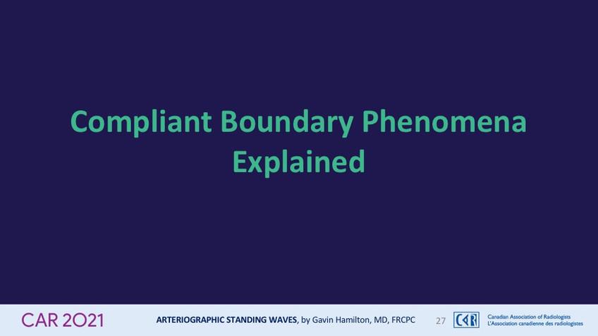 Compliant Boundary Phenomena Explained