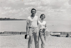 Jean and younger brother Ian