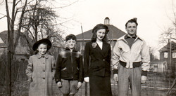 Marion, Ian, Jean, Gavin