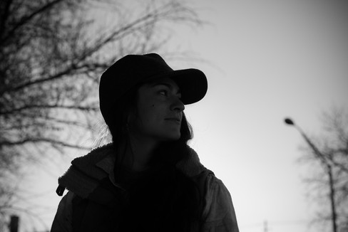 Portrait of girl with baseball cap