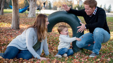 Blended Family Session at Cheeseman Park, Denver
