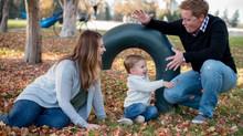 Blended Family Session at Cheeseman Park, Denver