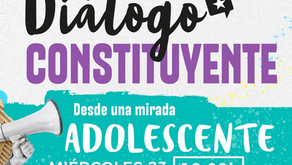 Diálogo Constituyente convocó a adolescentes a proponer mecanismos de participación ciudadana