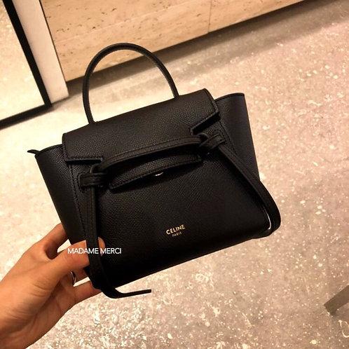 【CELINE】BELT PICO BAG /BLACK