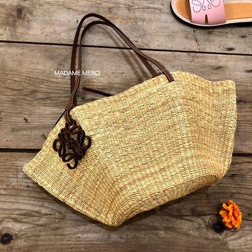 【LOEWE】Small Shell Basket bag