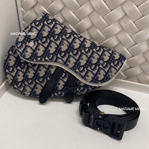【DIOR】SADDLE / Dior Oblique - BELT BAG