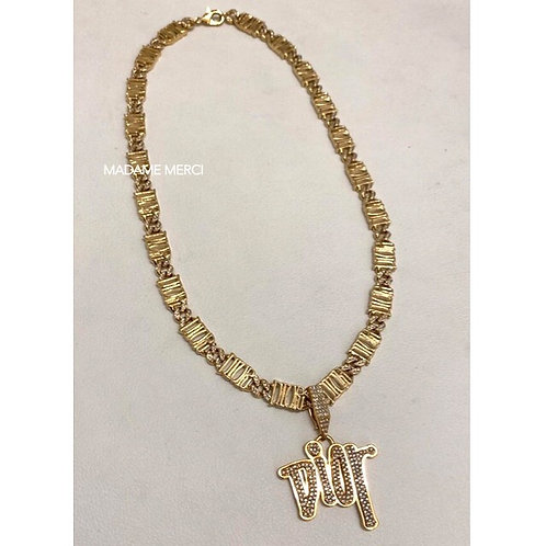 【DIOR】COLLAB STUSSY - CRYSTALS × NECKLACE