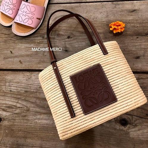 【LOEWE】Small Square Basket bag