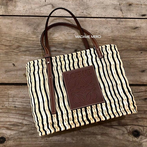 【LOEWE】Small Square Basket bag