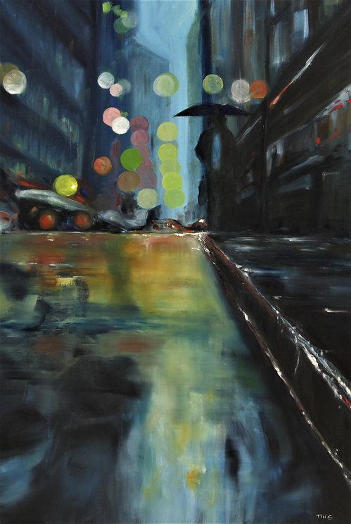 Rainy night-24 36-oil on canvas.JPG