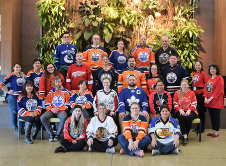 Acden Supports Humboldt Broncos Jersey Day