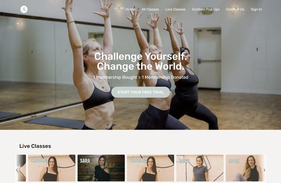 Modo Yoga LA Virtual Studio
