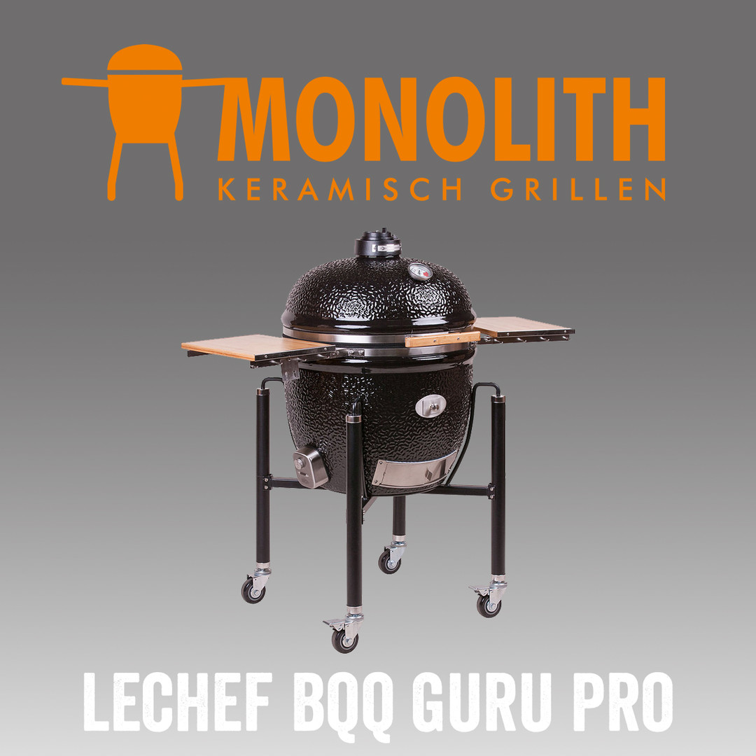 Neu im Sortiment: Monolith Lechef BBQ Guru Pro Keramikgrill