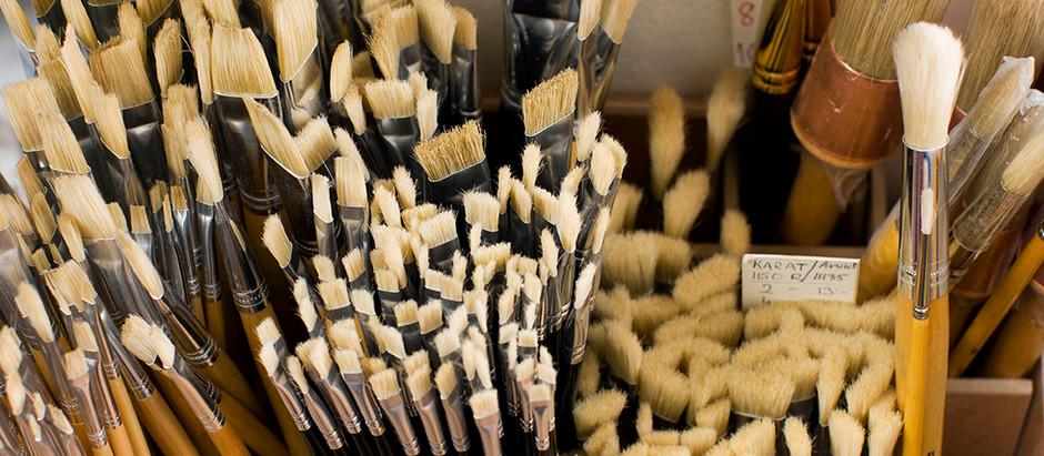 Paint Brush Care