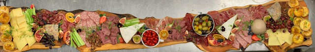 Sharing platter for wedding reception