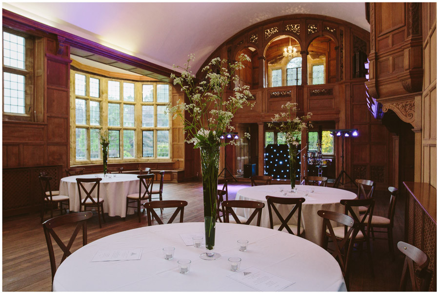 Music Room at Balcombe Place Sussex wedding venue for celebrant wedding ceremony