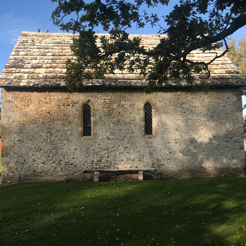 Exterior view of the Chapel at Bailiffscourt Hotel