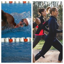 ריצה מול שחייה