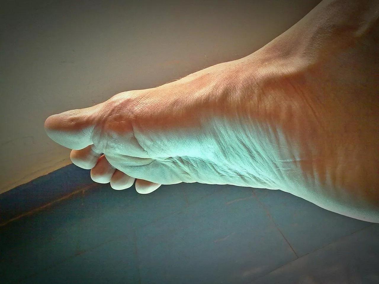 חיזוק שרירי כף הרגל
