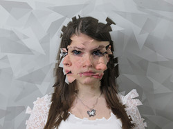 Alexa Marines cubism-portrait