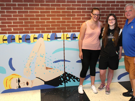 Art Club's Pool Legacy Project