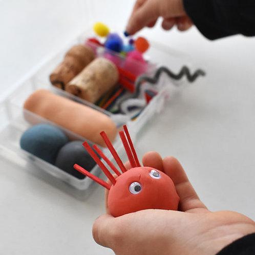 Playdough Mini Kit - Feelings Faces