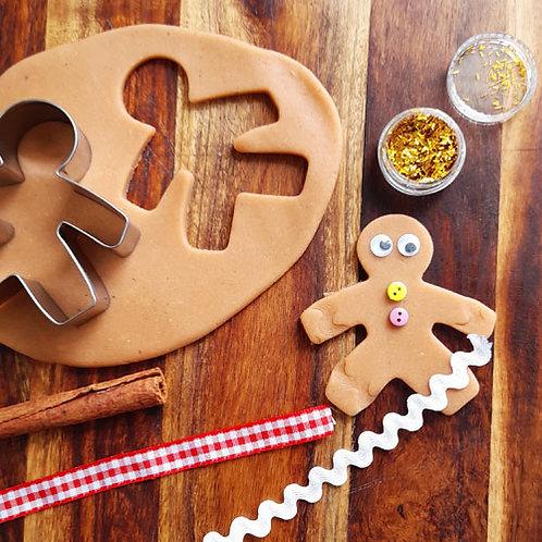 Playdough Mini Kit - Gingerbread Man